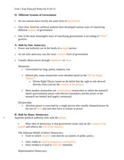 Unit 1 Fast Forward Notes for 9-10-13