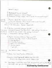 Lecture Notes-Islam II