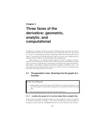 Ch 3 Three Faces of the Derivative- Geometric, Analytic, and Computational.pdf