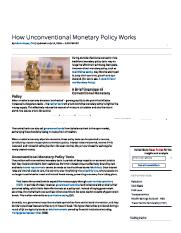 How Unconventional Monetary Policy Works _ Investopedia.pdf