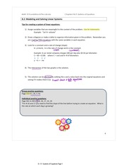 8.2-3 Modelling and Solving Linear Equations