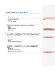 Test 2 Questions & Answers