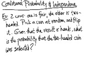 Lecture 5 on Conditional Probability