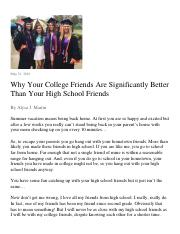 UWP21 FA16 MT Reading_Why Your College Friends