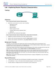 6.3.1.9 Lab - Exploring Router Physical Characteristics.docx