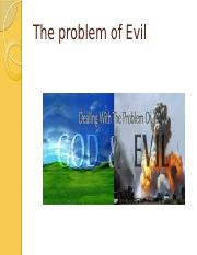 intro philosophy - problem of evil- chpt 7 revised _1_ _1_ _2_ (1).pptx