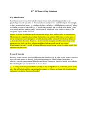 PSY 257 Research Gap Worksheet.docx