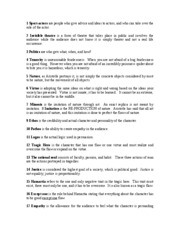 theatre of the oppressed glossary 1