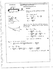 1156_Mechanics Homework Mechanics of Materials Solution