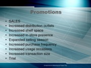 Promotions (Presentation)