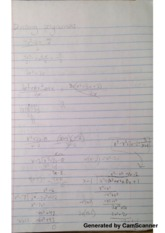 Dividing Polynumials Class Notes