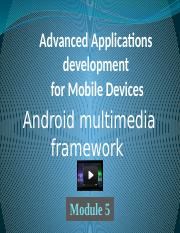 Module 5. Android Multimedia.pptx