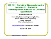 ChemicalEquilibriumLect22ME501F2011