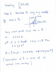 Multivariable integration