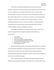 an essay on internet advertsing If this essay isn't quite what you're looking for, why not order your own custom marketing essay, dissertation or piece of coursework that answers your exact question.