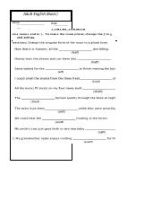worksheet 3 (Singular and Plural-2)