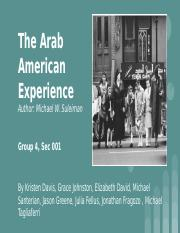 The Arab Immigrant Experience 001 group 4 new.pptx