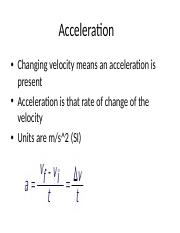 Acceleration.ppt