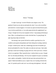 Essay 2 - Music Therapy