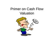 Chapter7_Primer_on_Cash_Flow_Valuation