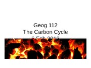 Geog112_CarbonCycle_WaterCylce_6feb