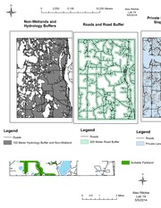 Cartographic Modeling of Potential Campground in St. Croix, Minnesota - arcGIS - Lab 14