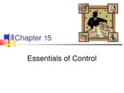 Chapter 15-Essential of control