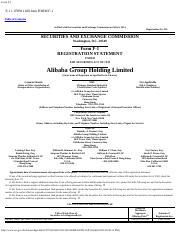 Alibaba ipo prospectus pdf 2020 download