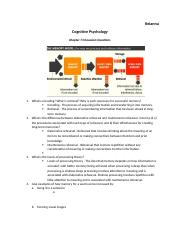 Cognitive Psychology-Chapter 7 DQs.docx