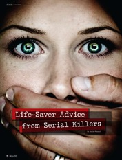 Life Saver Advice from Serial Killers