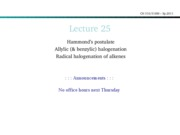 Lecture 25-halogenation