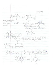 Reactions and Mechanisms
