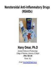 004 HS_Pharmacology of NSAIDs.pptx