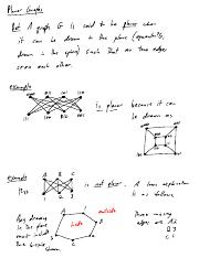 Chapter 13 -- Planar Graphs