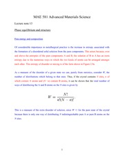 Lecture note 13 (10-18-2011)