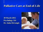 March 30 2015 palliative care