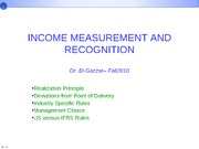 Revenue Recognition Ch-5