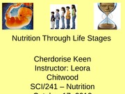 Life Stages Presentation (Cher Keen)
