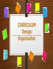 Curriculim Design