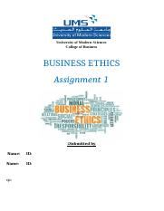 busniess ethics.docx
