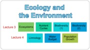 Lecture_3_Ecology & Environment(1) (2013)