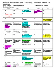 Schedule_ISDS_1100_Spring 2013 Wednesday_Section_rev (1)