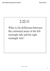 Right Triangle Rule