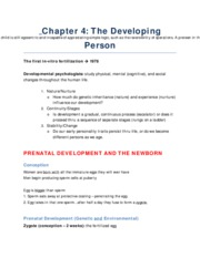 PSY 1102 - Chapter 4