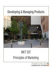 MKTG 11 - Developing and Managing Products - Key Slides (2)