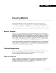 Routing Basics