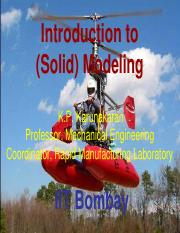 LectureCAD-3D-Introduction to Solid Modeling - Presentation