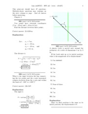physics hmwk 2 solution