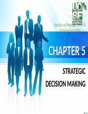 Topic 5 - Strategic Decision Making.pptx