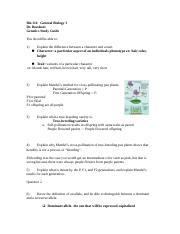 gen key hbio   Answer Key For Genetics Matching Worksheet ...